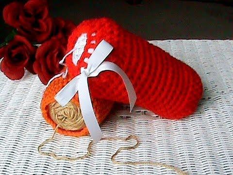 Crochet A Yarn Skein Cozy Yarn Holder Youtube