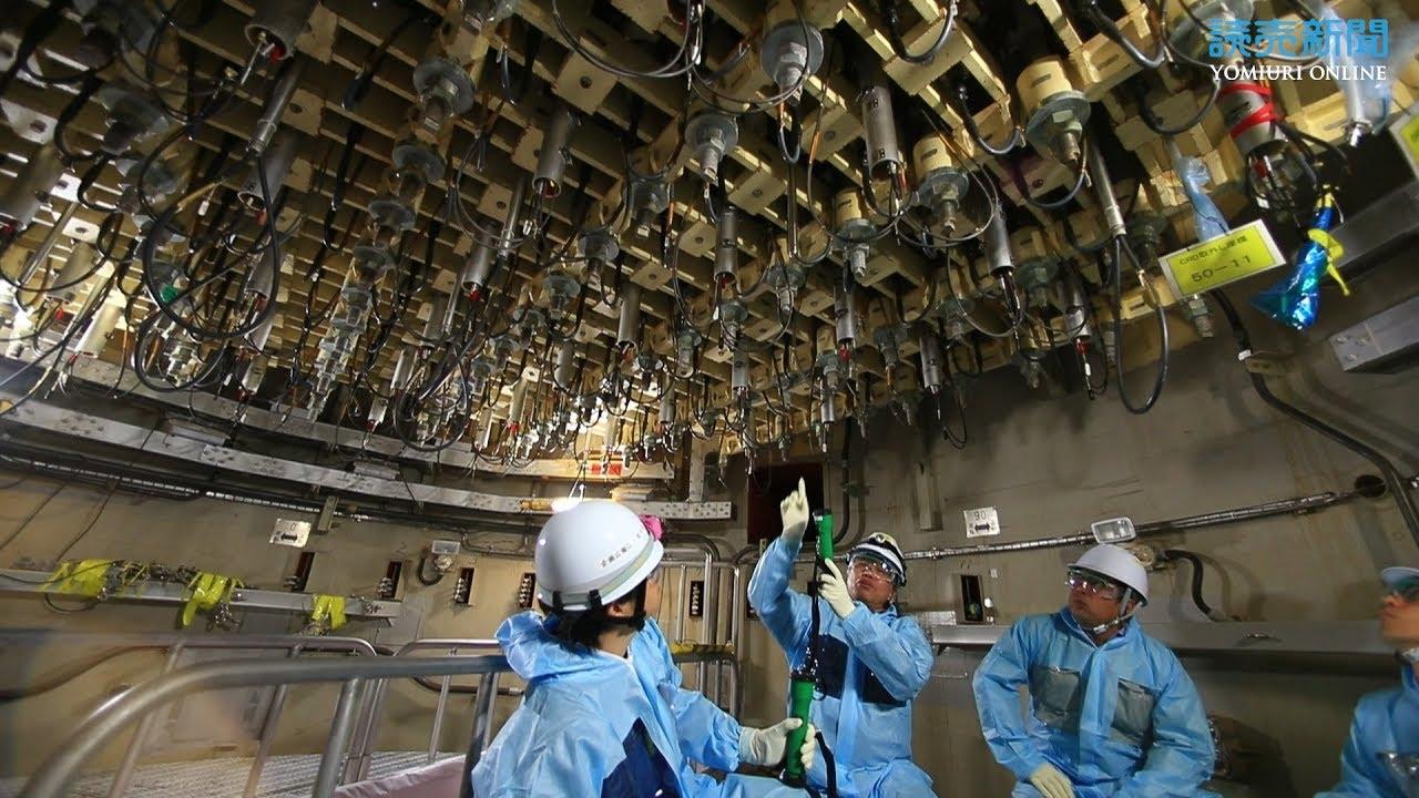 廃爐作業が進む福島第二原発 - YouTube