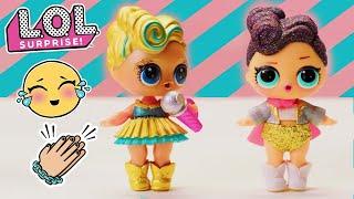 L.O.L. Surprise! | Stop Motion Dance Competition Cartoon | Baby Doll Surprise Toys