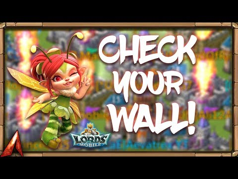 Check Your Wall Heroes Or BURN! Lords Mobile!