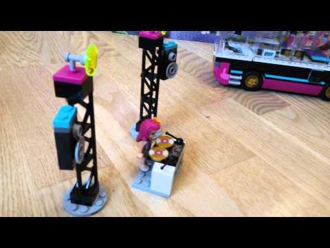 Лего френдс автобус звезды для гастролей 41106