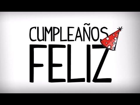 Chanson de joyeux anniversaire en espagnol