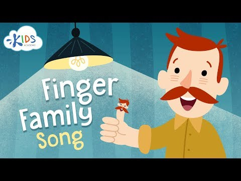Finger Family Song - Children Song with Lyrics - Nursery Rhymes   Kids Academy