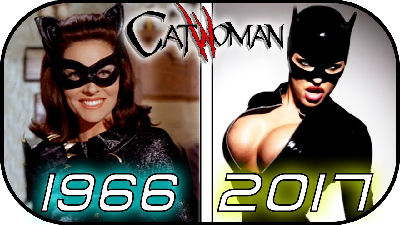 Download EVOLUTION of CATWOMAN in MOVIES & TV SERIES (Selina Kyle) 1966 - 2017 -Batman-