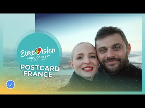 Postcard Madame Monsieur from France - Eurovision 2018
