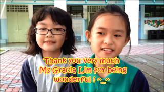 Kids say the Sweetest things ! ^_^ (Anderson Primary School