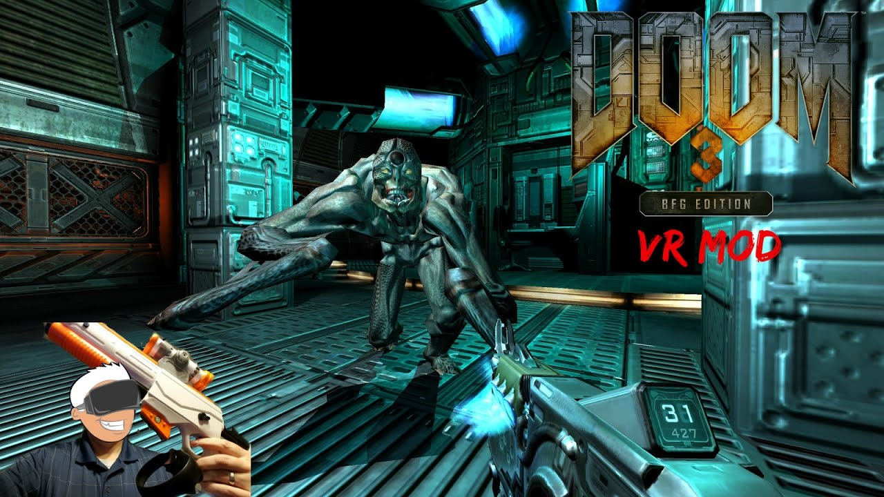 Testing My Touch Shot Elite Gun MOD In Doom 3 BFG VR With ...
