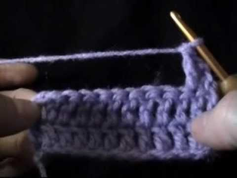 Crochet Stitches In Youtube : Double Crochet Stitch Tutorial - YouTube