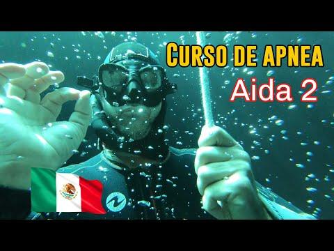 AIDA2 Curso   Freedive 16 Mtrs   Curso De Apnea En Cenote Maravilla.
