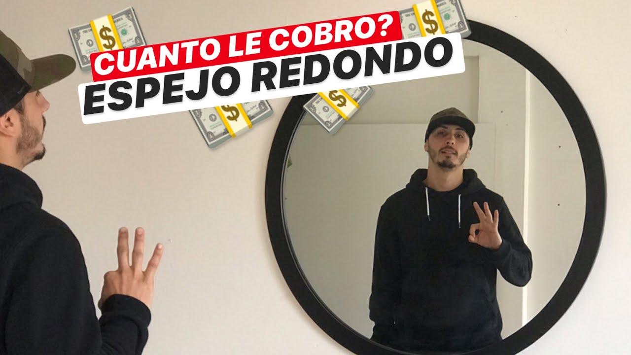 ESPEJO REDONDO GIGANTE, ¿CUANTO LE COBRO? - #ProyectoMueble
