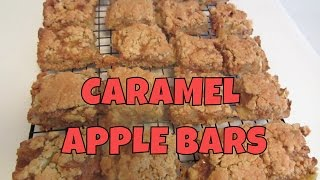 Gluten Free Caramel Apple Bars