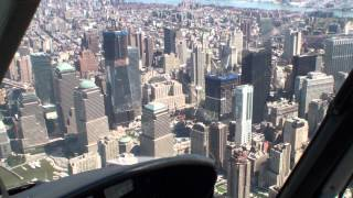 Helicopter Flight in New York City über Manhattan 2011