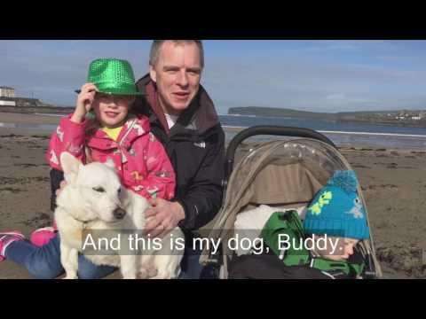 Seachtain na Gaeilge ar RTÉ │ Will Leahy