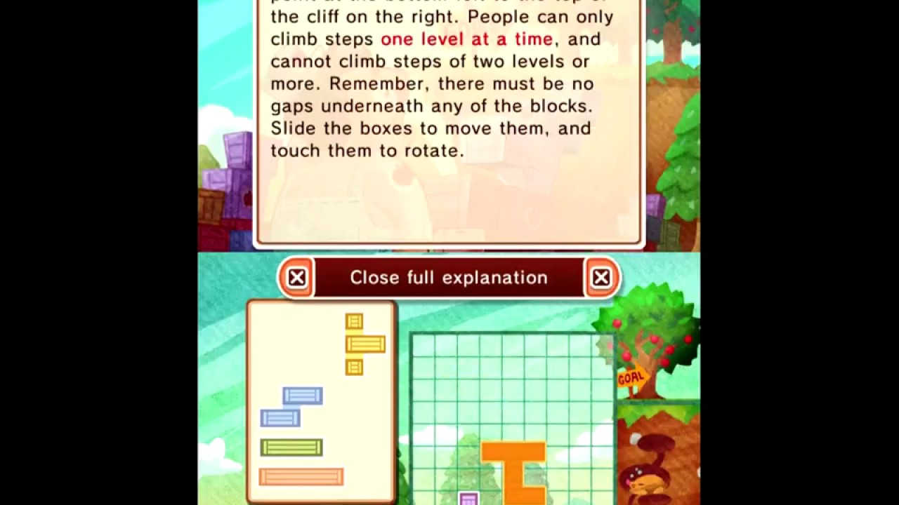 Genial Laytonu0027s Mystery Journey: Case 4 Puzzle 051 U0027Stair Blocksu0027 Walkthrough
