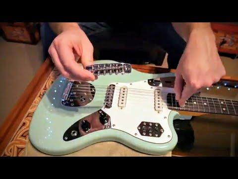 How To Fit Correct Mustang Bridge Squier Jaguar Jazzmaster