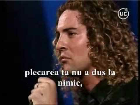 David Bisbal - Esta ausencia(subtitrare în limba r...