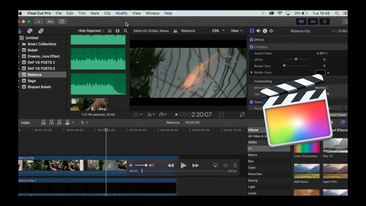 How To Export In Final Cut Pro X Best Export Settings Youtube