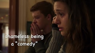 shameless being a 'comedy' for 12 minutes straight