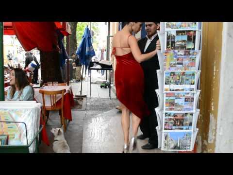 Argentine Tango. Caminito, Buenos Aires