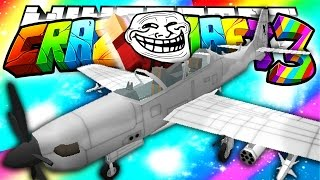 minecraft crazy craft 3 0 troll aircrafts 1 hour special helicopter mod 56