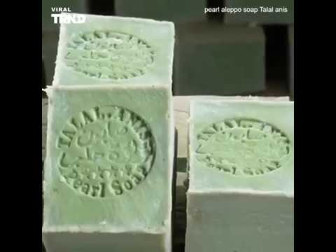 Traditional Manufacture Of Pearl Aleppo Soap Talal Anis