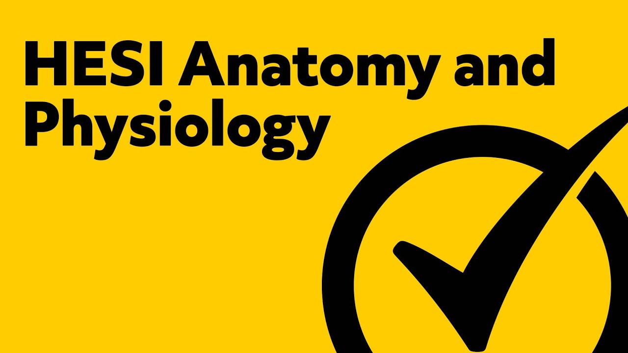 HESI Anatomy and Physiology (Study Guide)
