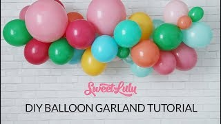 Download Mp3 Sweet Lulu Balloon Garland Tutorial