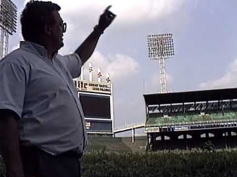 Comiskey Park demolition interview with Bill Barlow.1991.