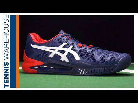 Asics Gel Resolution 8 Tennis Shoe Review ��