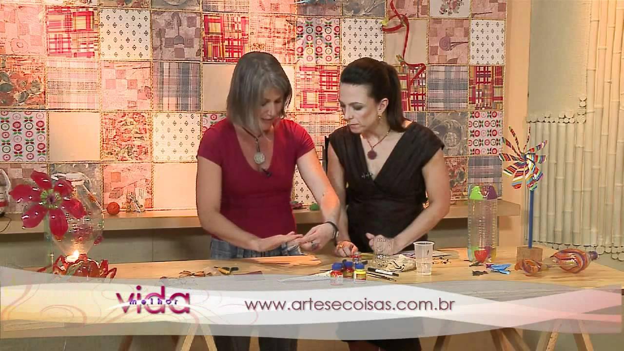 Vida Melhor Artesanato com Cláudia Gianini (atriz e artes u00e3) YouTube