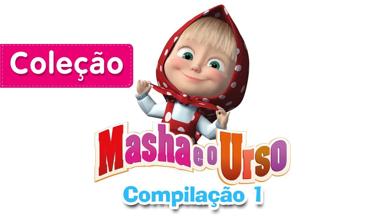 Masha E O Urso Compilacao 1 Desenho Animado Compilacao De 20 Mins Youtube