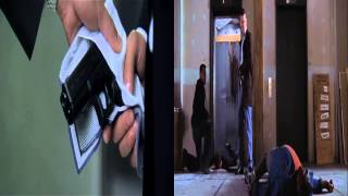 The Departed & İnfernal Affairs Lift Scene Comparison