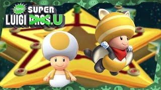 New Super Luigi U Deluxe ᴴᴰ   World 9 (All Star Coins) Solo Toad