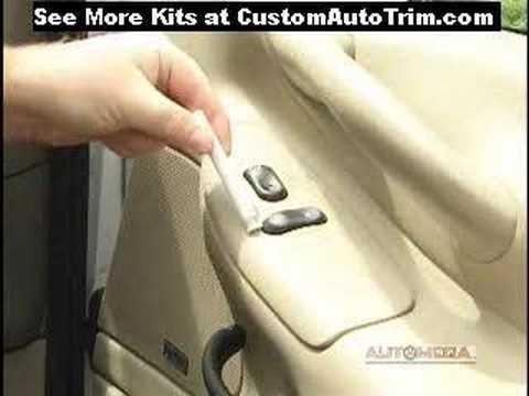 Dash Kits - Installing A Wood Dash Kit At CustomAutoTrim.Com