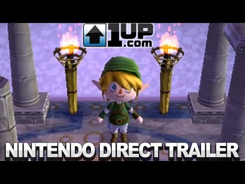 Animal Crossing New Leaf Nintendo Direct Trailer
