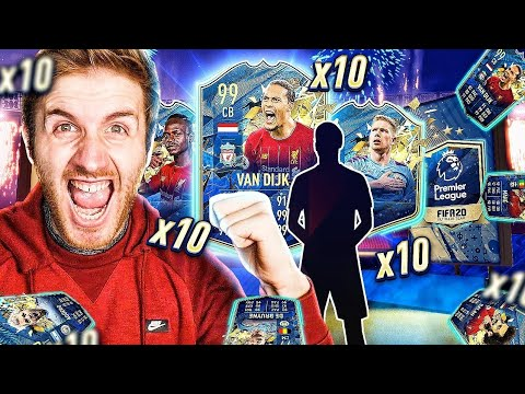 What do you get from 10 Guaranteed Premier League Team of the Season Packs?