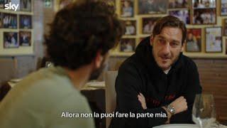 La prima clip della serie su Totti