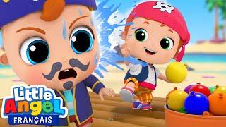 Les Gentils Pirates - Jouons avec nos Bombes à Eau - Comptines pour Bébé | Little Angel Français