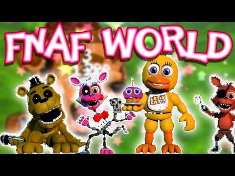 My Flavor Of Five Nights At Freddy's! | FNAF WORLD | Fan Choice Friday