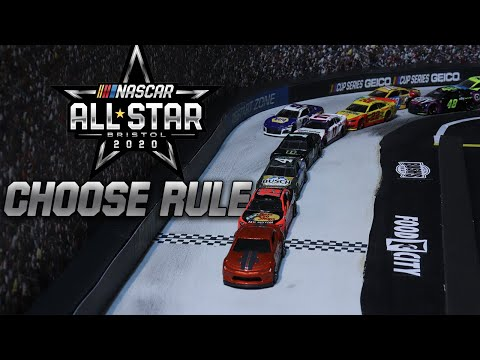 Stop motion NASCAR: How will the choose rule look at Bristol? | NASCAR Cup Series All-Star Race from YouTube · Duration:  1 minutes 30 seconds