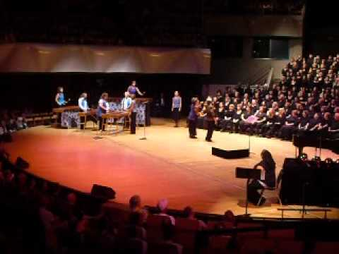 The Low Flying Knobs Marimba Band With Resonance Women's Chorus And Denver Women's Chorus