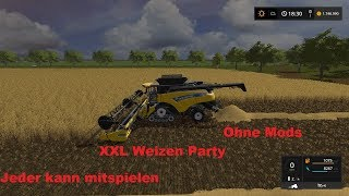 🔴LS17(MP) Pc Community Stream+ XXL Weizen Party!!🔴