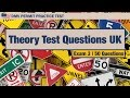 Driving license test: Theory Test Questions UK #3