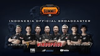 #INDOPRIDE AEROWOLF TEAM 1 DAN 7 DI LONDON - FACEIT GLOBAL SUMMIT: PUBG CLASSIC (GROUP A VS GROUP C)
