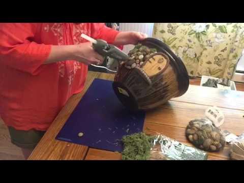 Fairy Garden Decor Decoration - Dollar Tree Family Dollar Joann Fabrics Michael's Crafts DIY