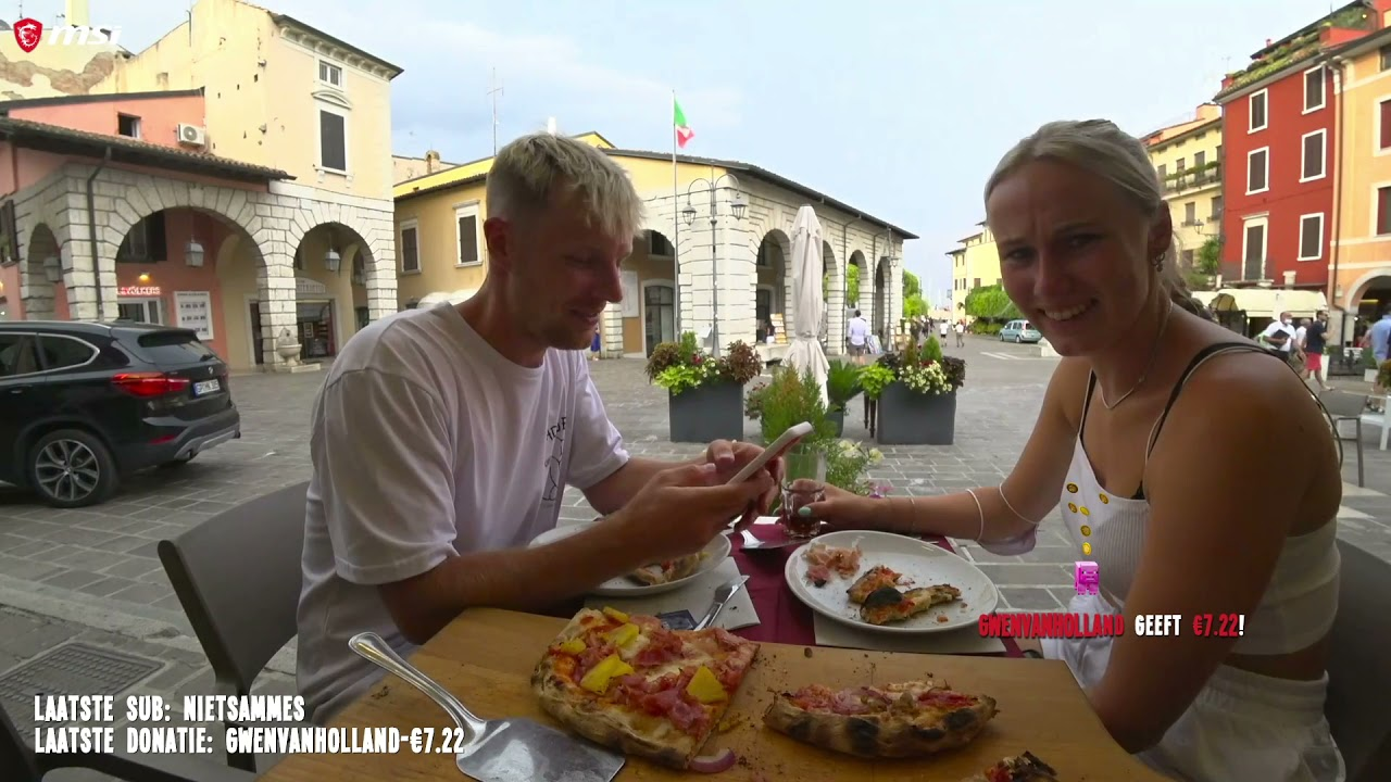 Enzo & Myron IRL livestream vanuit Italie🇮🇹 !!! | Live Op Twitch Stream(2)