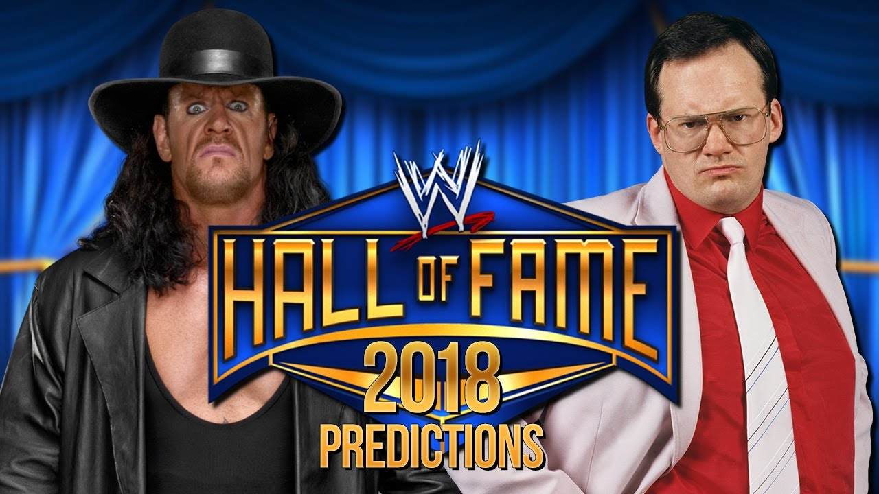 early 2018 wwe hall of fame predictions youtube