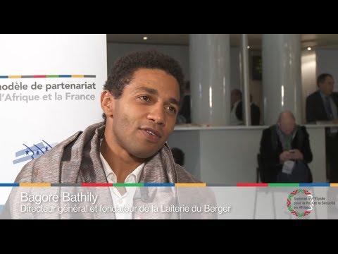 Bagoré Bathily - ITV Sommet Afrique France