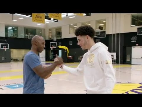 Chauncey Billups at the Gym With Lonzo Ball | Oct 8, 2017