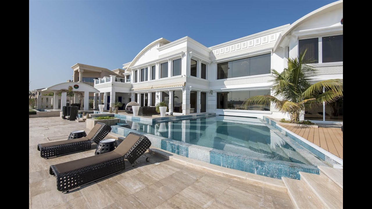 Grand Foyer Palm Jumeirah : Grand beachfront villa in dubai united arab emirates